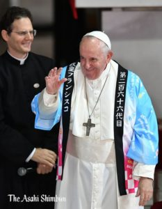 フランシスコ教皇広島でのスピーチ全文を紹介!教皇が病気を治した奇跡のエピソードとは?