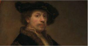 レンブラント34歳の自画像